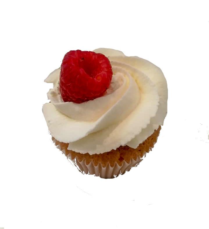 Cupcakes chantilly/framboises